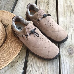 Timberland Suede Leather Power Lounger Shoes